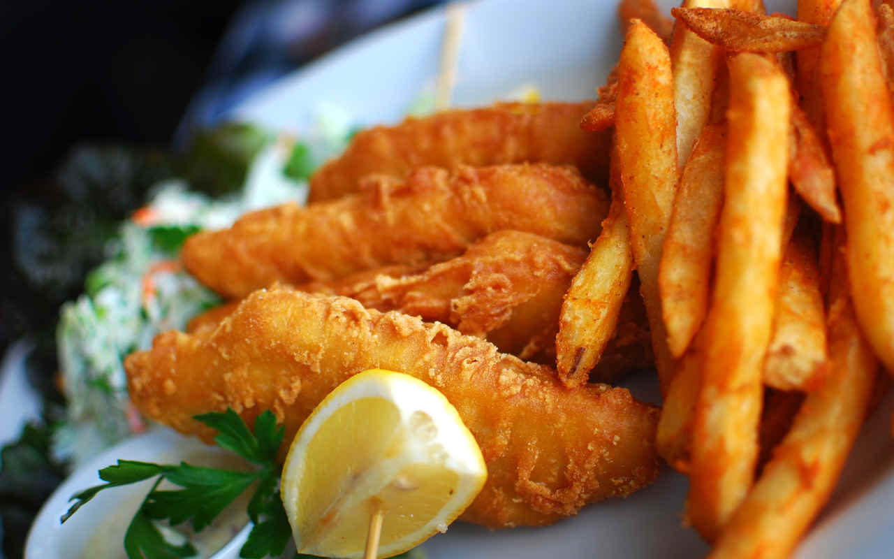 Fish and chips all'italiana con patate Selenella mini - Ricette Selenella