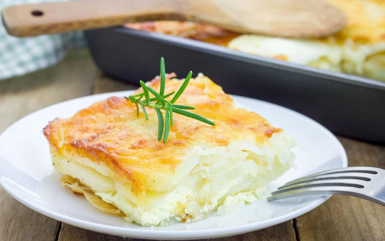 Gratin di patate - Ricette Selenella