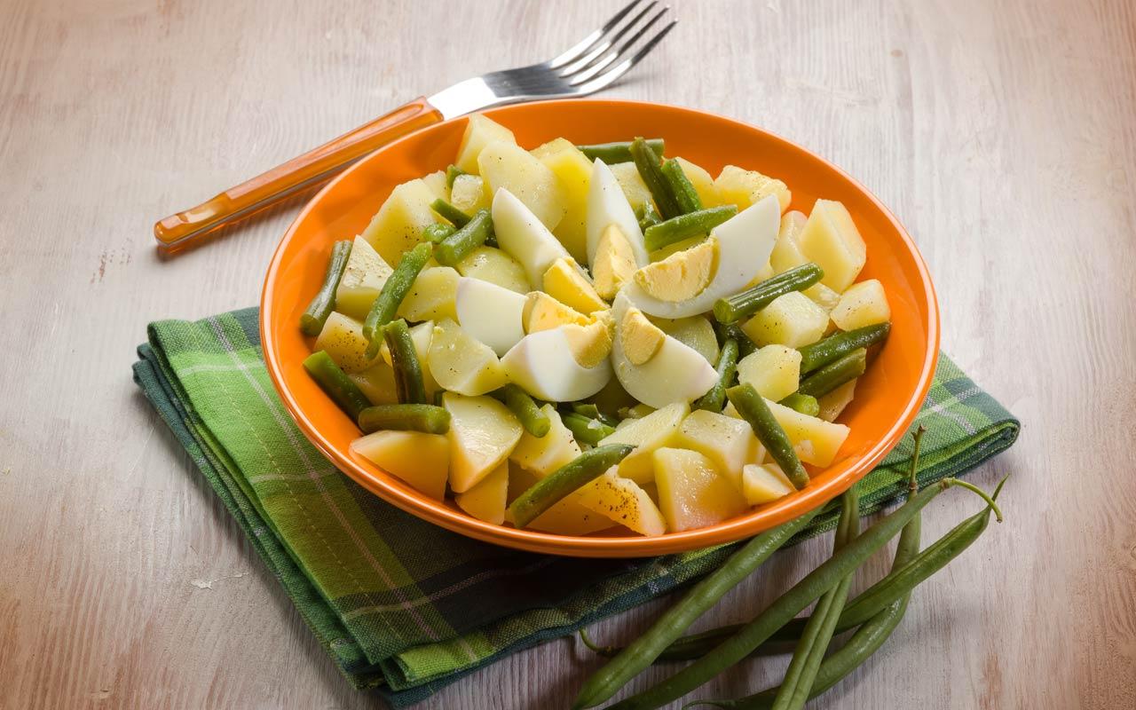 Insalata di patate e fagiolini - Ricette Selenella