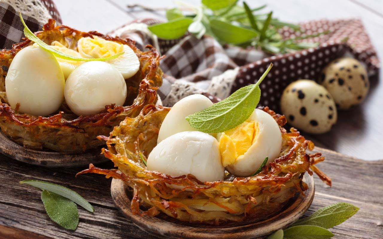 Nidi di patate ripiene - Ricette Selenella