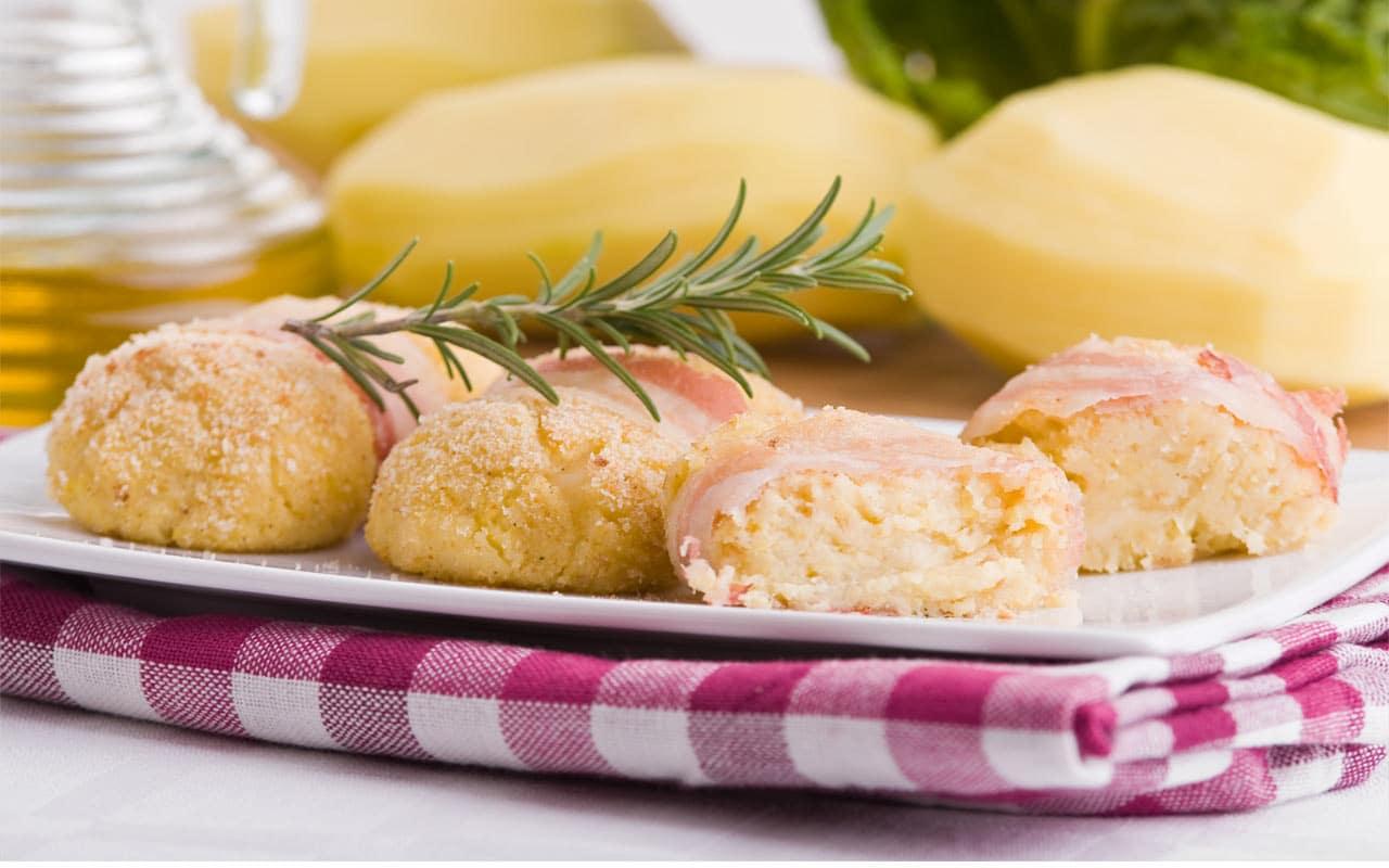 Crocchette di patate e formaggio - Ricette Selenella
