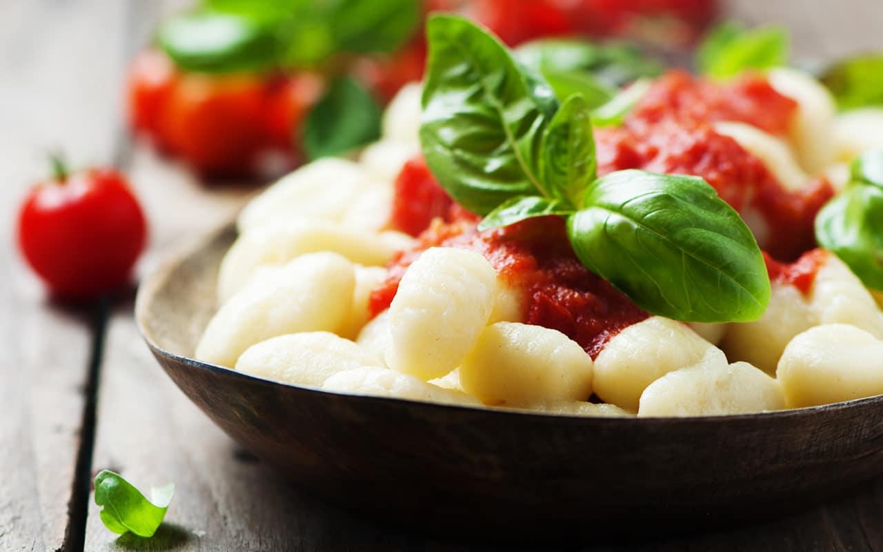 Gnocchi al pomodoro - Ricette Selenella