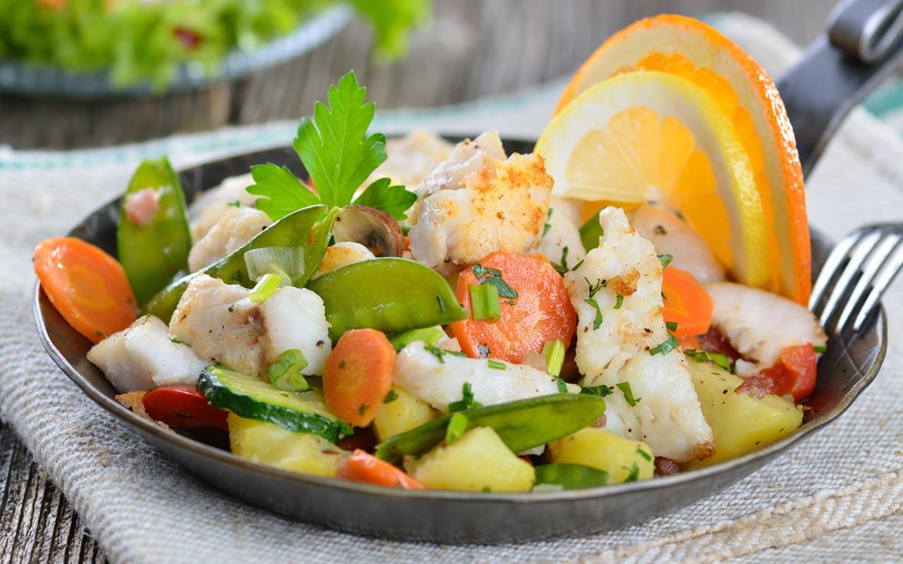 Insalata di granchio e patate novelle - Ricette Selenella