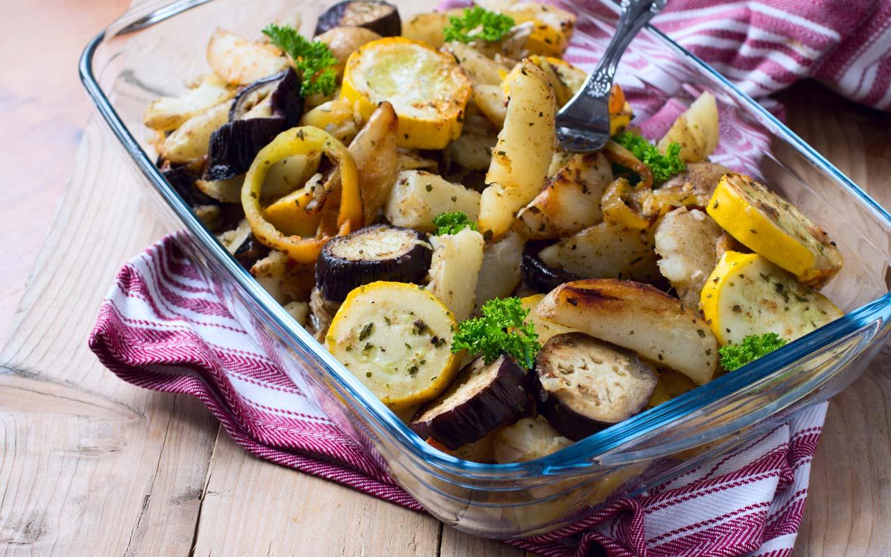 Insalata di melanzane e patate Selenella - Ricette Selenella