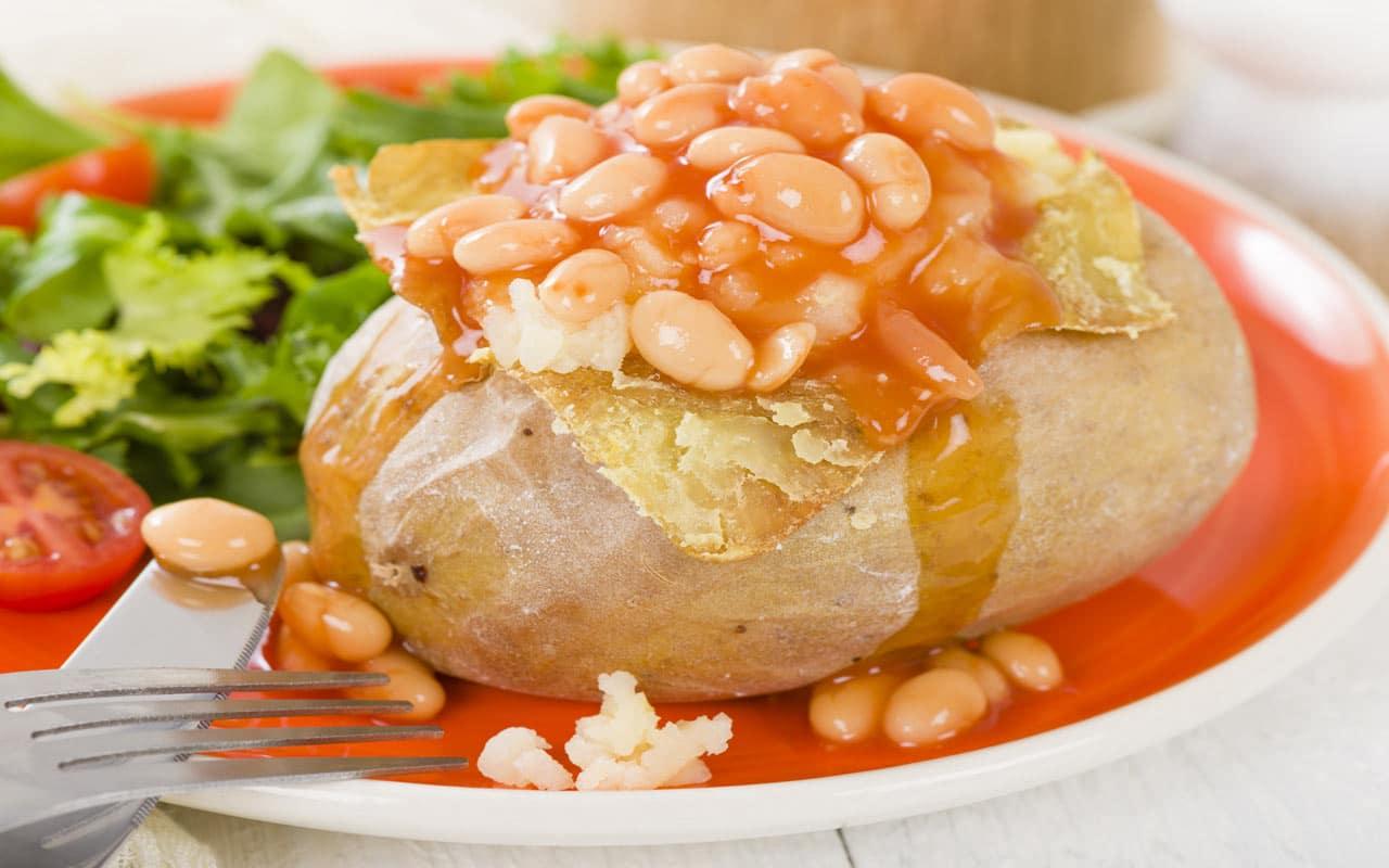 Insalata di patate e fagioli - Ricette Selenella