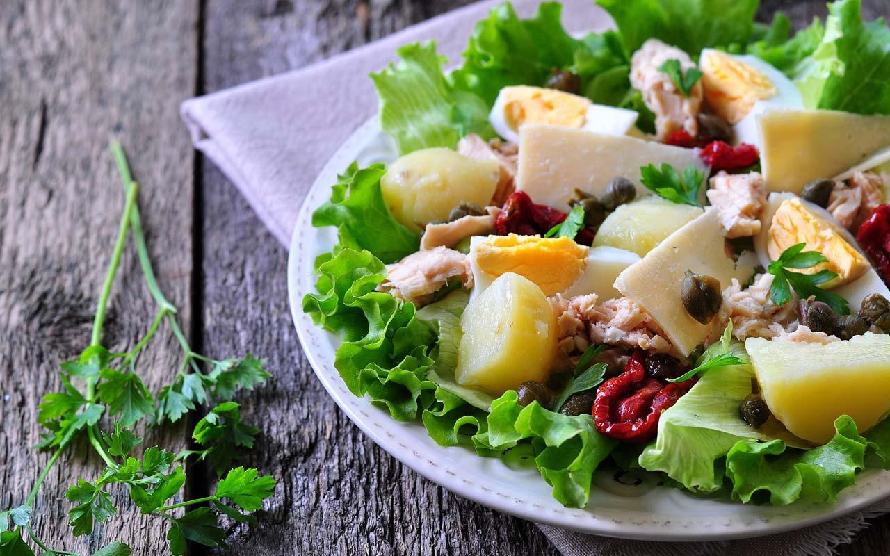 Insalata di patate e formaggio - Ricette Selenella