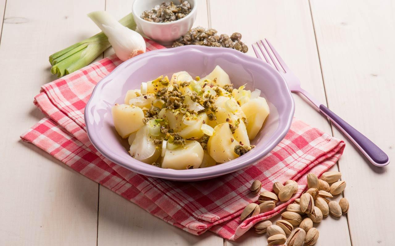 Insalata di pistacchi e patate Selenella - Ricette Selenella