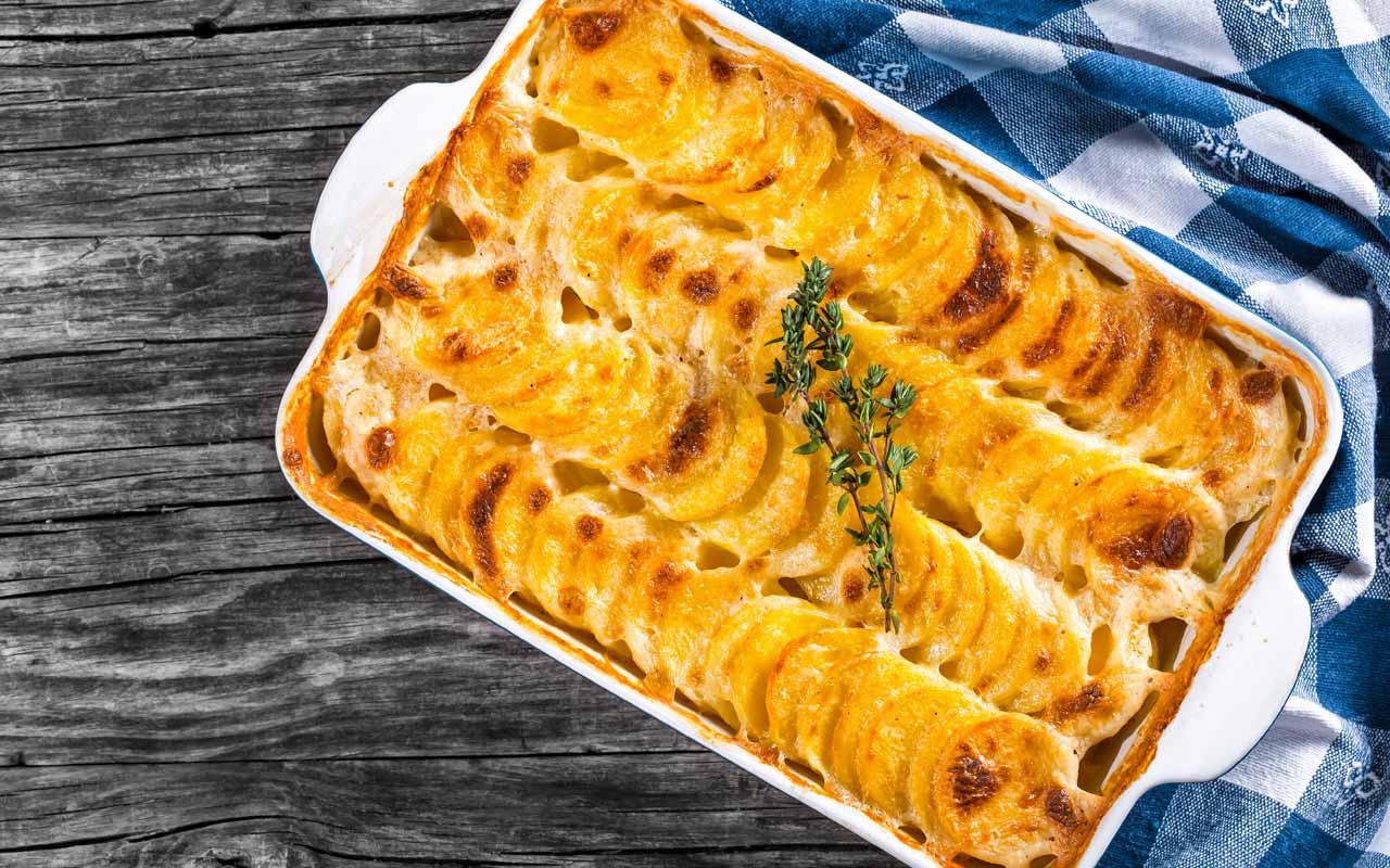 Patate al forno al parmigiano - Ricette Selenella