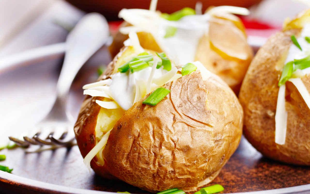 Patate al forno e mascarpone - Ricette Selenella
