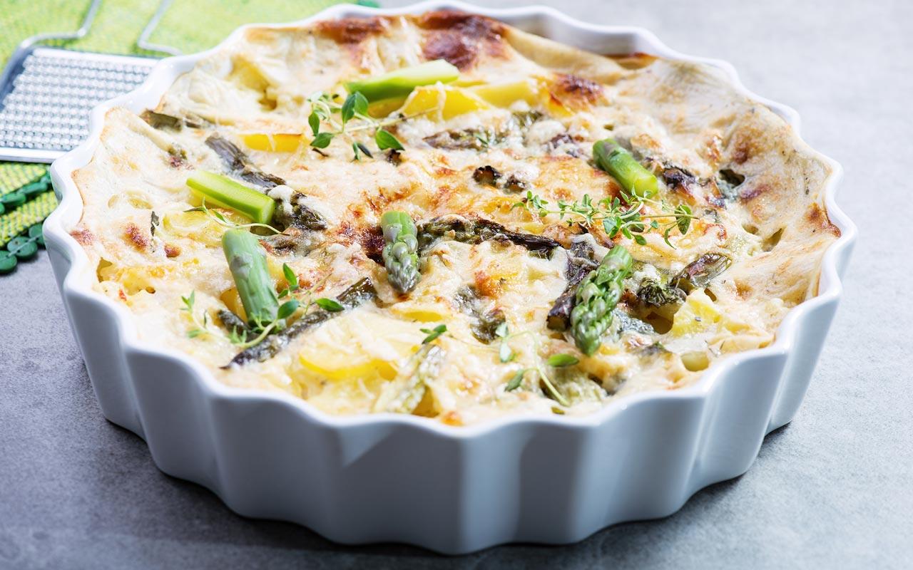 Sformato di patate e asparagi - Ricette Selenella