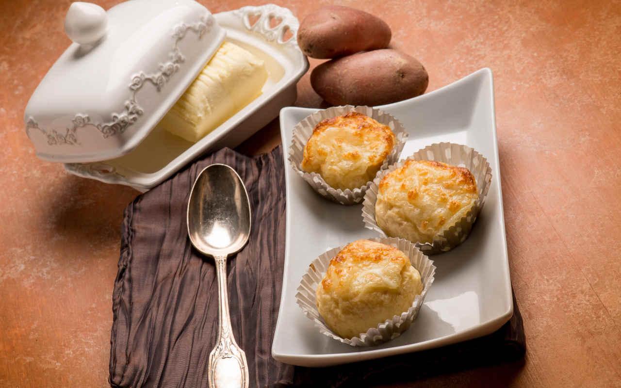 Soufflé di patate - Ricette Selenella