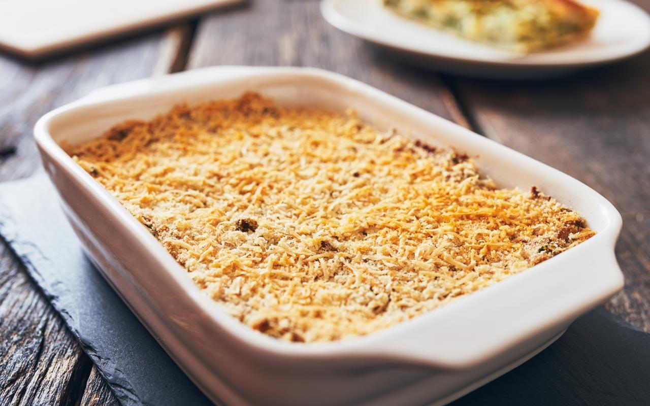 Timballo di radicchio e patate - Ricette Selenella