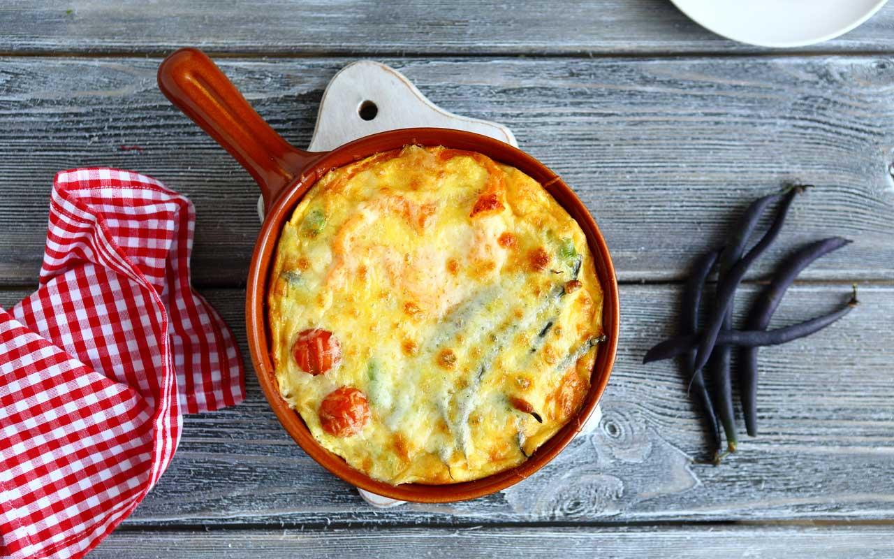 Torta salata alla crema di fagiolini e patate - Ricette Selenella