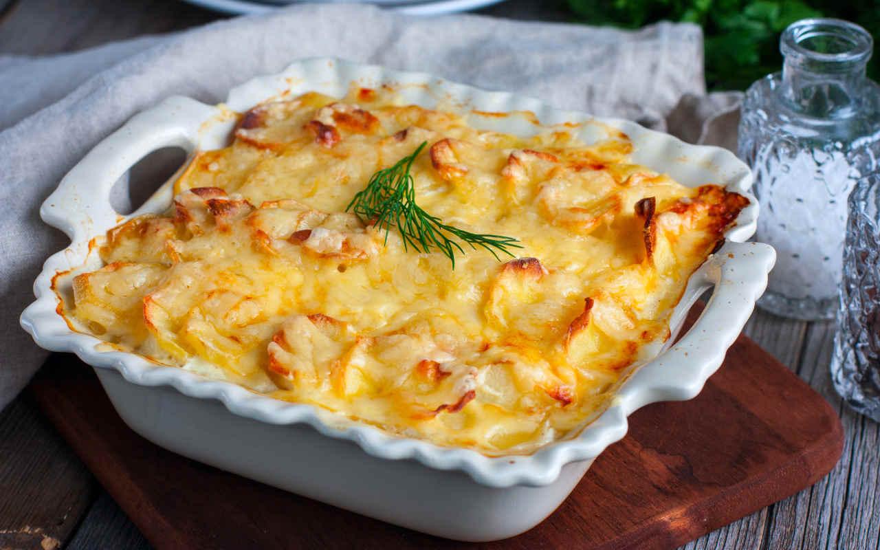 Tortino di patate e formaggio - Ricette Selenella
