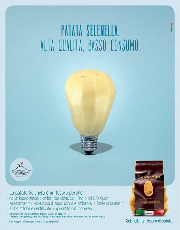 Selenella campagna pubblicitaria - Alta qualita basso consumo
