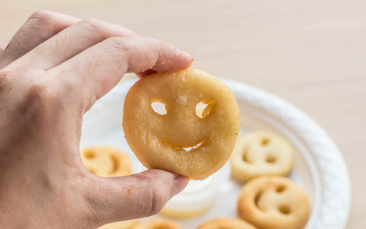 Patata smile - Ricette Selenella