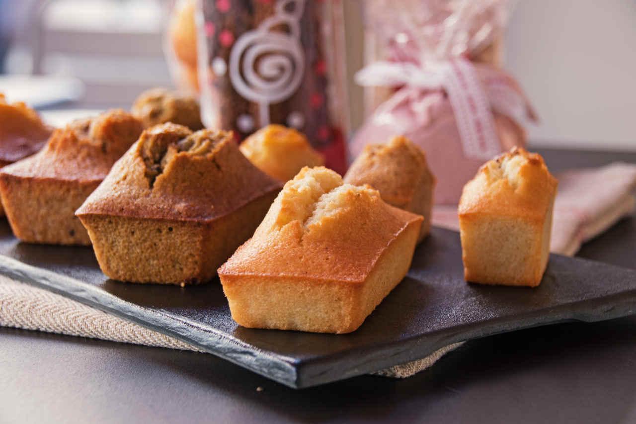 Mini plum cake alle patate - Ricette Selenella