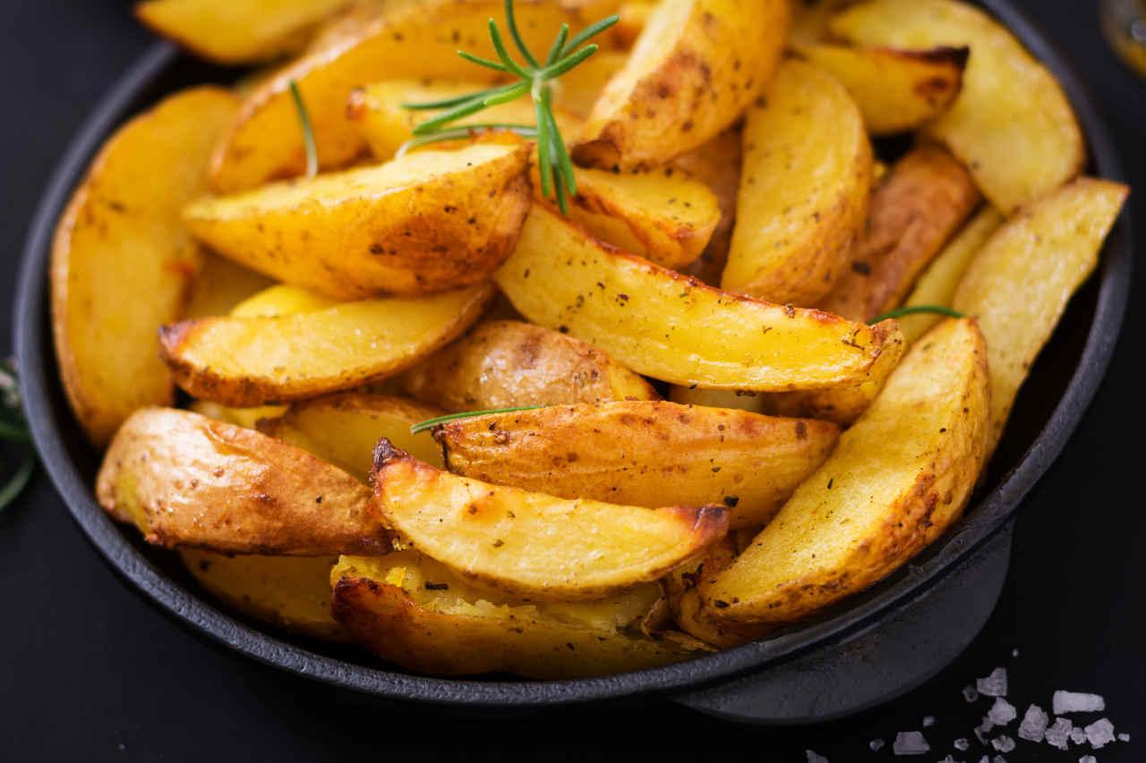 Patate fritte non fritte - Ricette Selenella