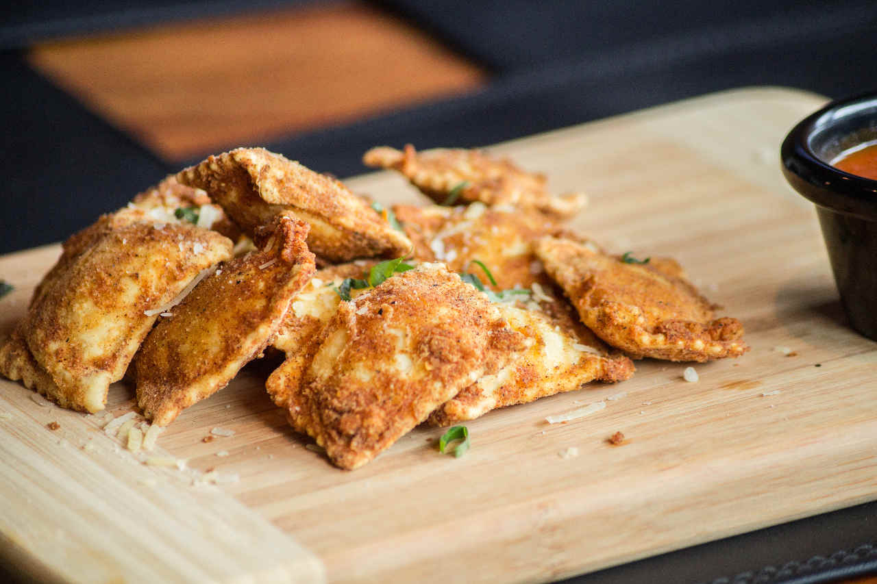Tortelli fritti di patate e zucca - Ricette Selenella