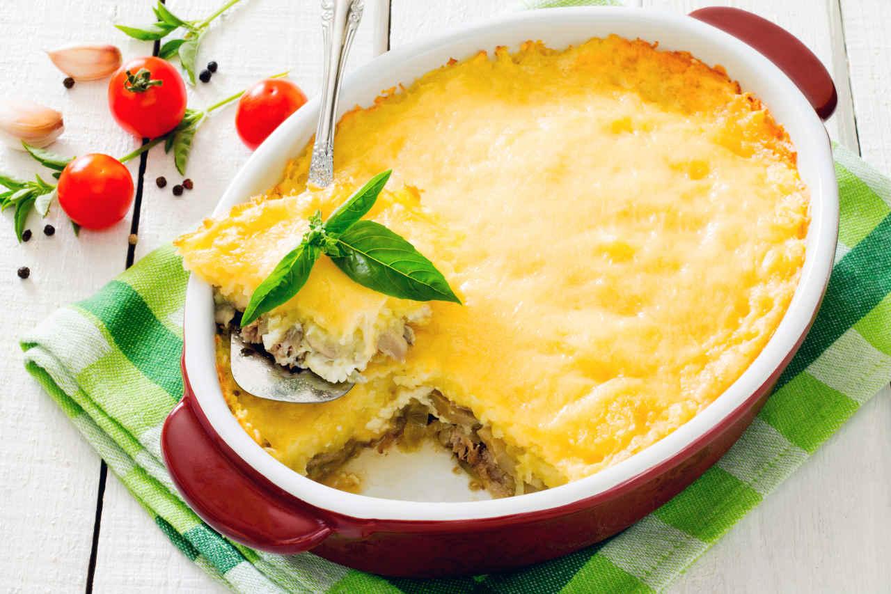 Tortino con patate, funghi e fontina - Ricette Selenella