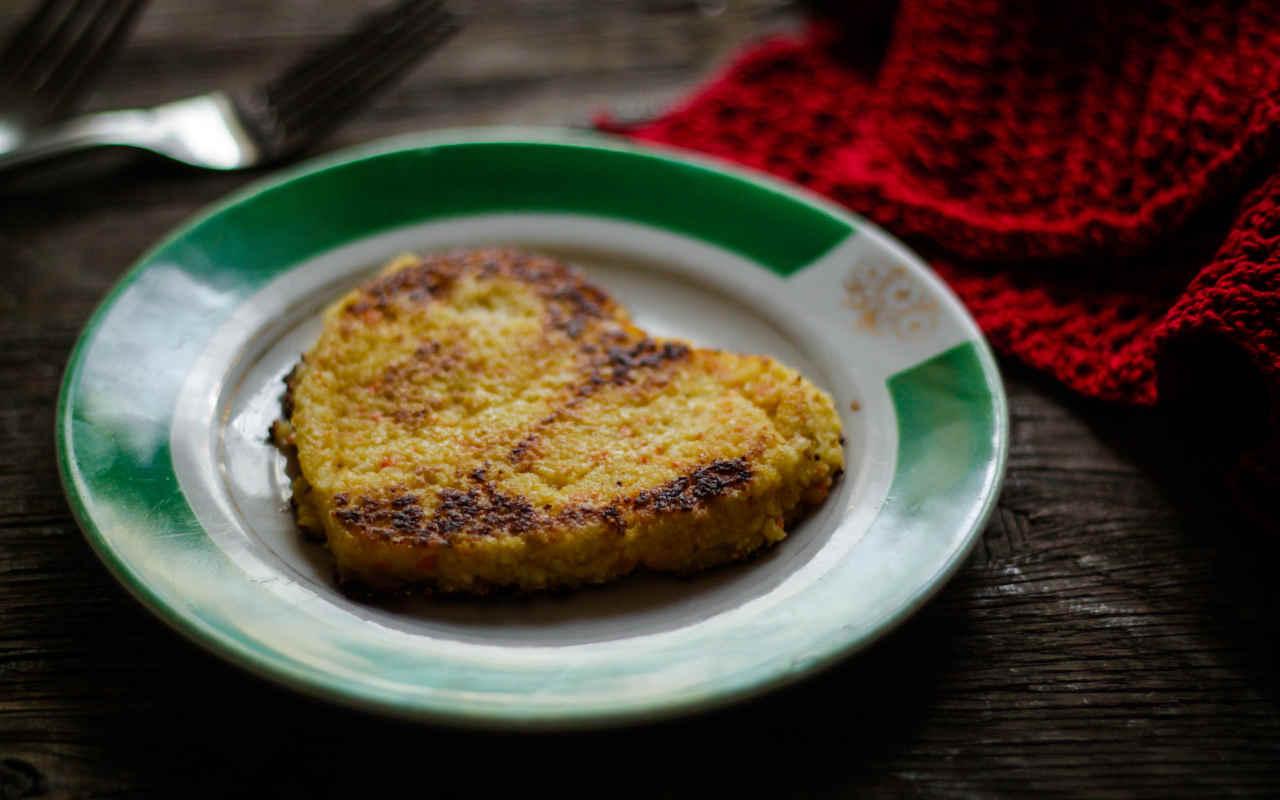 Timballini di patate Selenella con spinaci e speck - Ricette Selenella