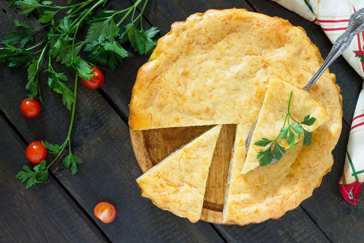 Torta salata patate e porri - Ricette Selenella