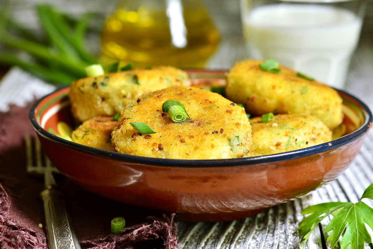 Crocchette di patate Selenella e baccalà - Ricette Selenella