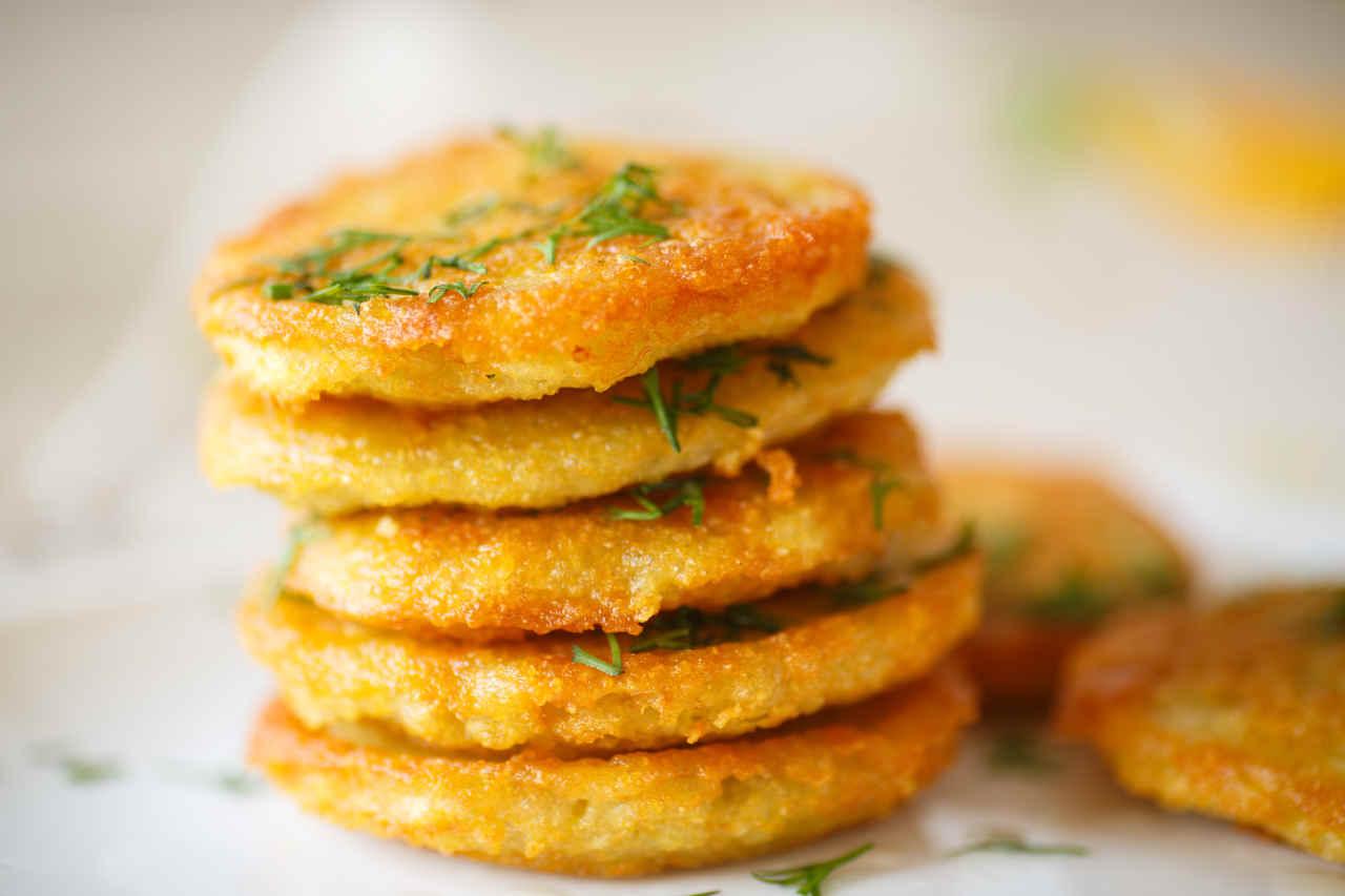 Frittelle di patate e parmigiano - Ricette Selenella