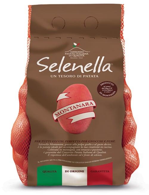 Prodotto Selenella confezione Patata Montanara
