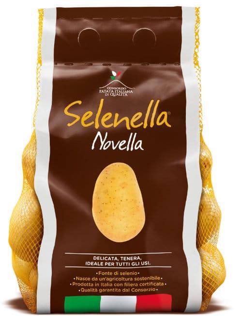 Prodotto Selenella confezione Patata Novella