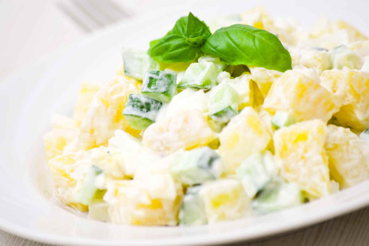 Patate con maionese piccante - Ricette Selenella