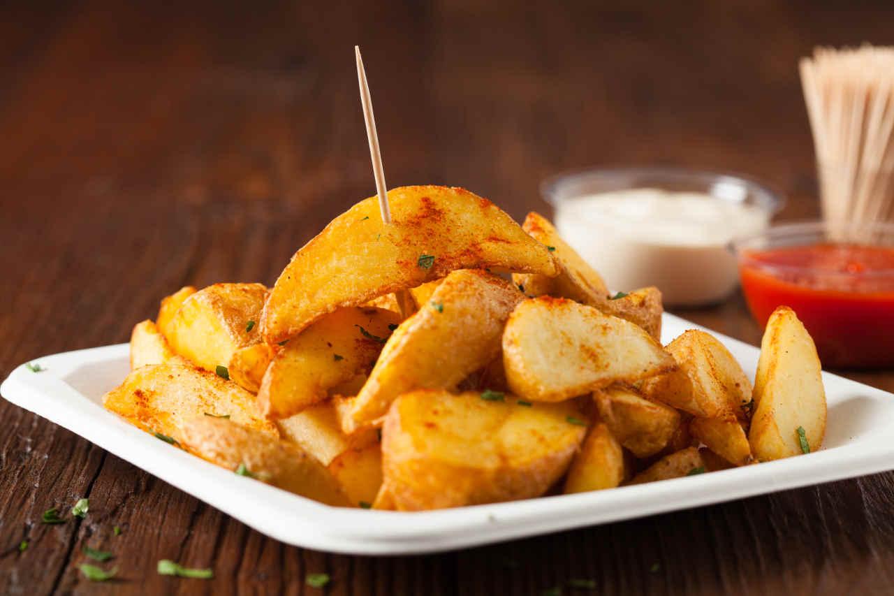 Patate speziate - Ricette Selenella