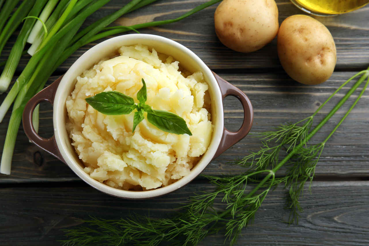 Purè di patate Selenella - Ricette Selenella