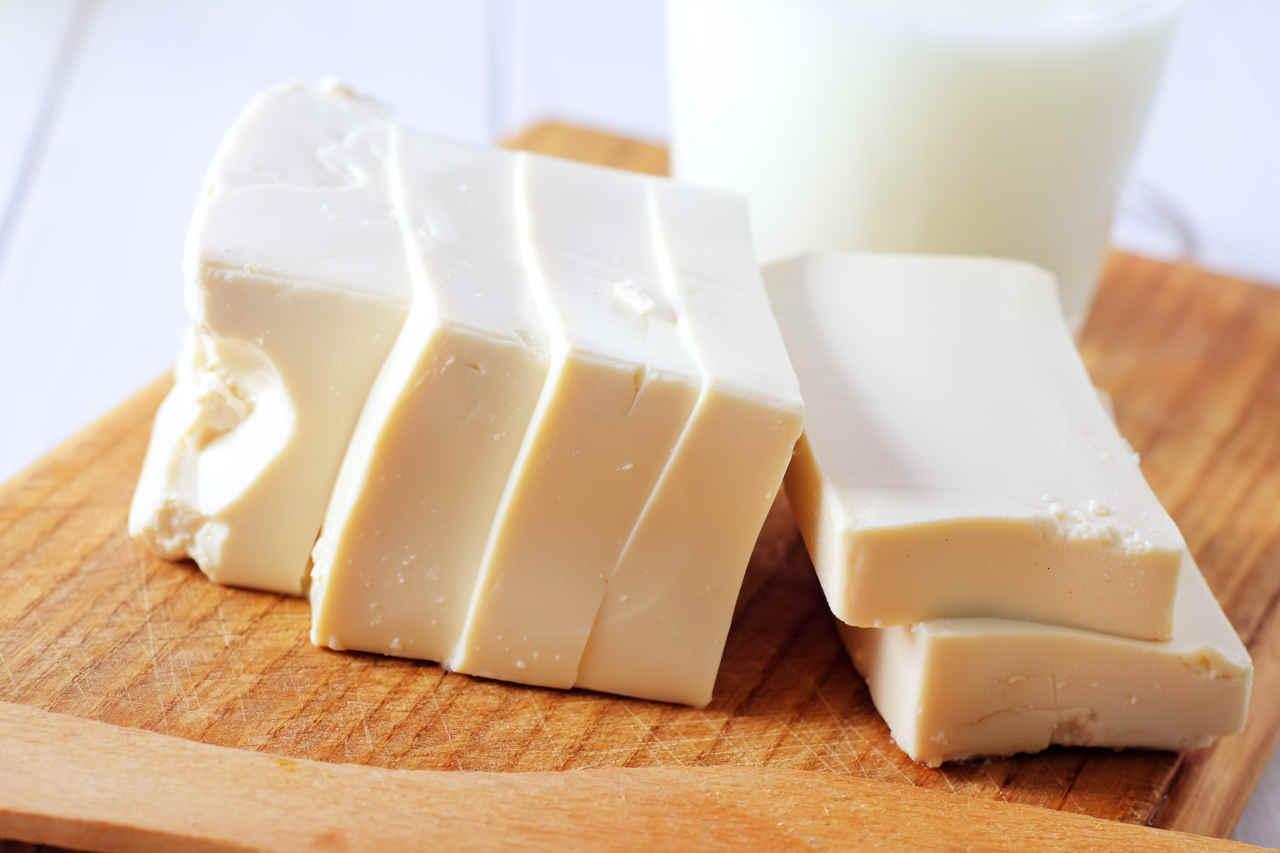 Purè ricco con cubetti di tofu - Ricette Selenella