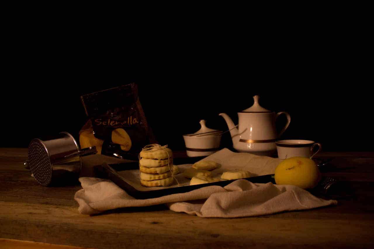 Biscotti di patate al limone con cioccolato bianco di Lisa Corsoni - Ricette Selenella