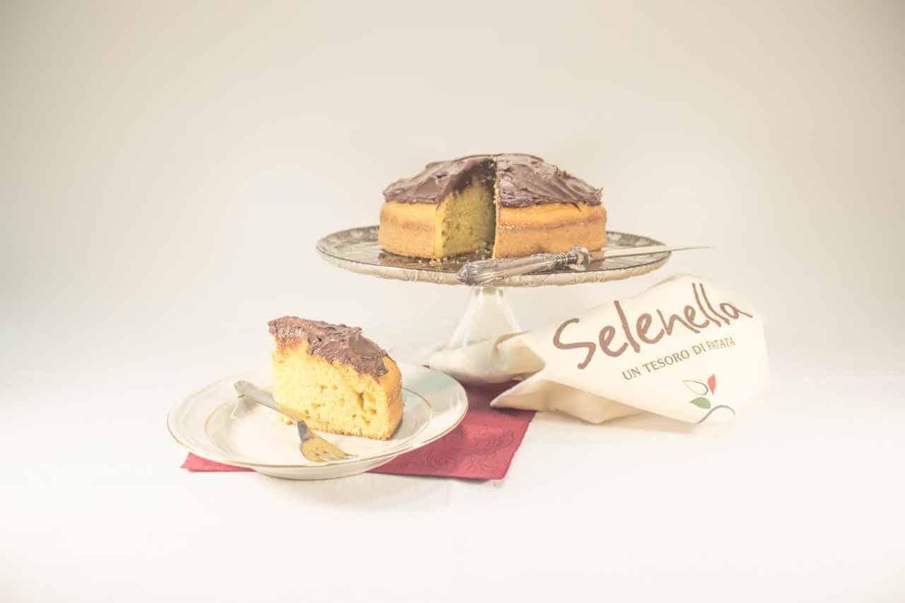 Torta di patate con ganache speziata di Lisa Corsoni - Ricette Selenella