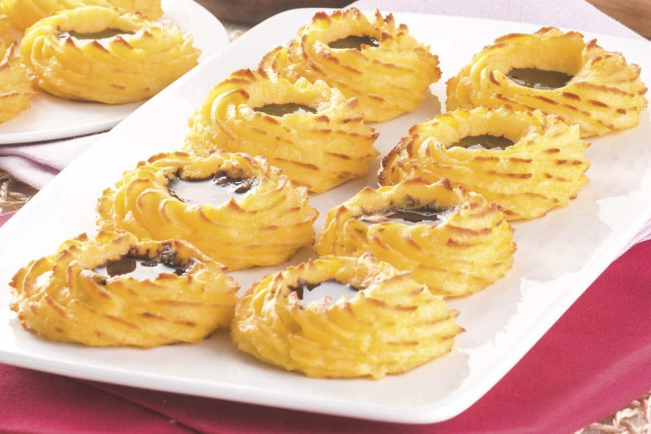 Cestini di patate con Aceto Balsamico Tradizionale - Ricette Selenella