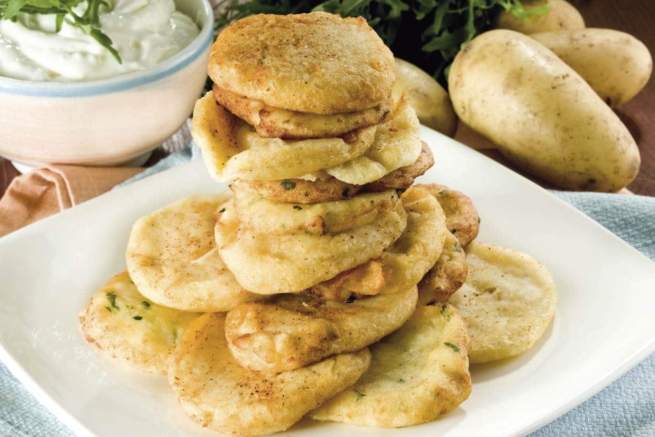 Focaccine fritte di patate - Ricette Selenella
