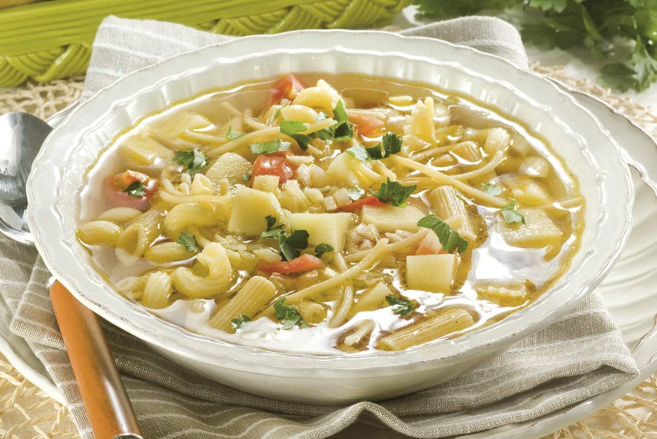 Pasta e patate alla napoletana - Ricette Selenella