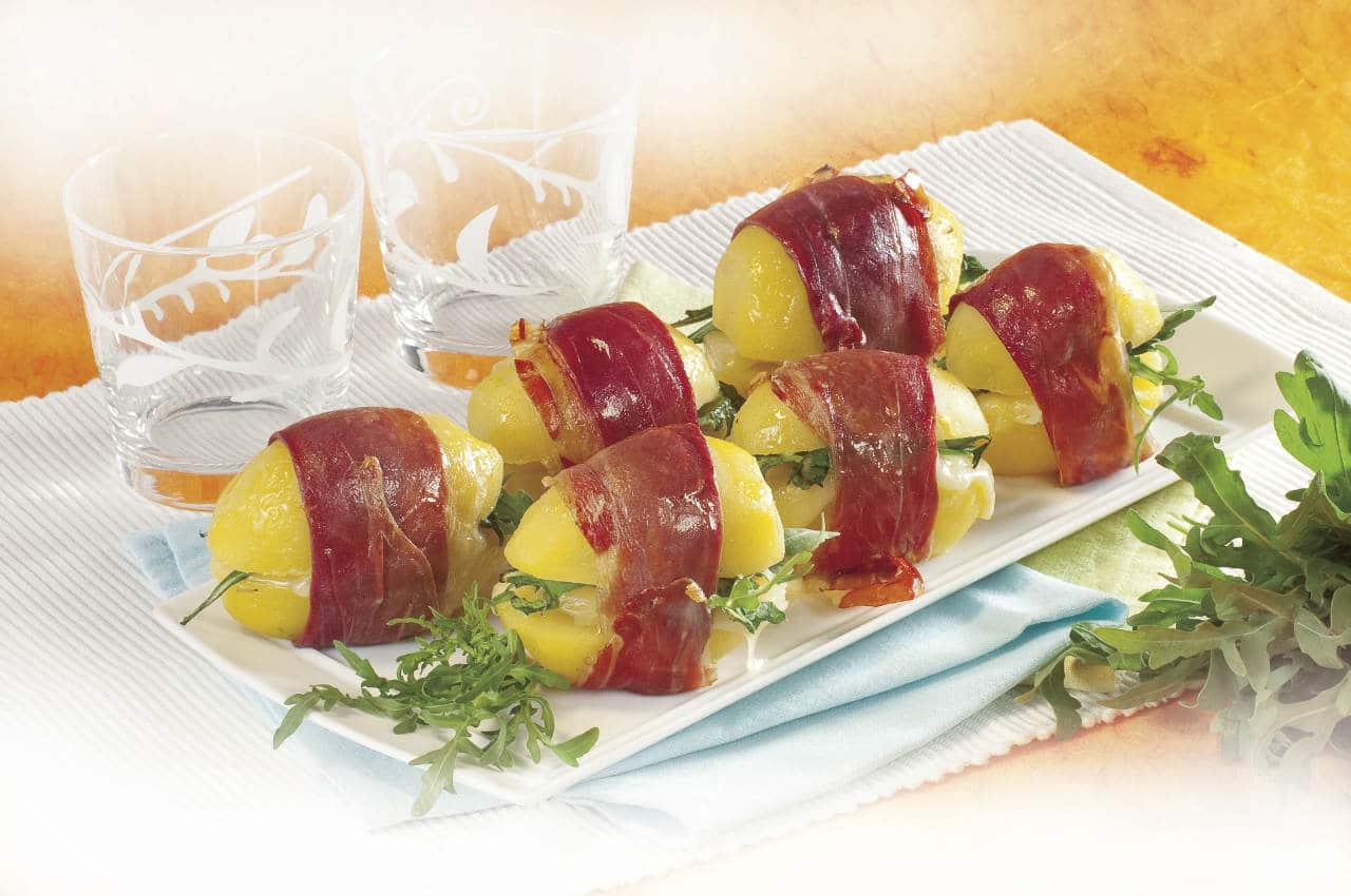Patate al prosciutto - Ricette Selenella