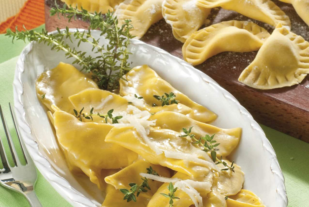 Tortelli di patate e ricotta affumicata - Ricette Selenella