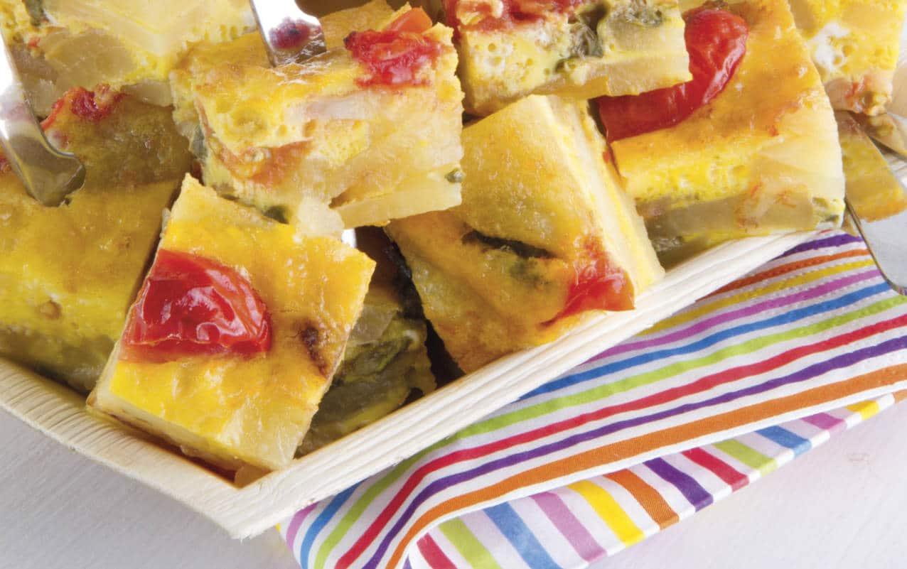 Tortillas di patate e acciughe - Ricette Selenella