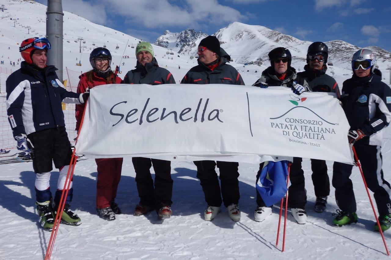 Selenella sulle piste innevate del Circuito Master Old Stars! - Il Blog di Selenella