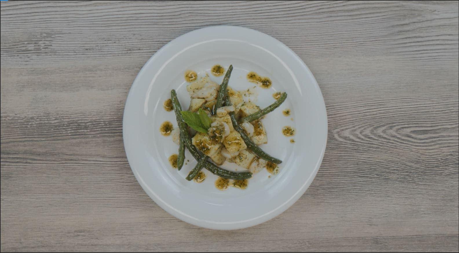 Insalata di patate al pesto di menta - Ricette Selenella