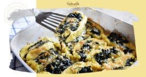 Ricetta Selenella Rotolo patate e spinaci