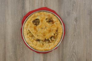 Torta di Halloween con patate selenella
