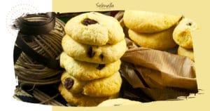 Biscotti di patate e uvetta