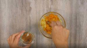 Ravioli alla curcuma con patate e zucca - Ricette Selenella