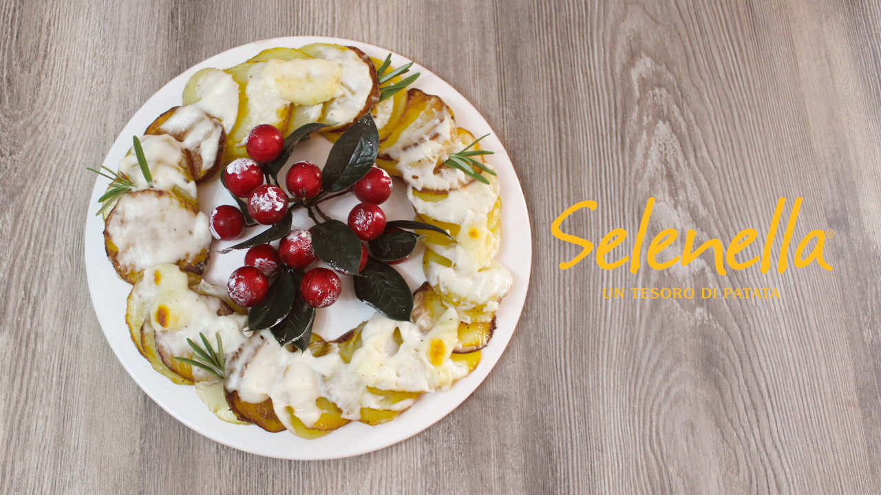 Ghirlanda di patate - Ricette Selenella