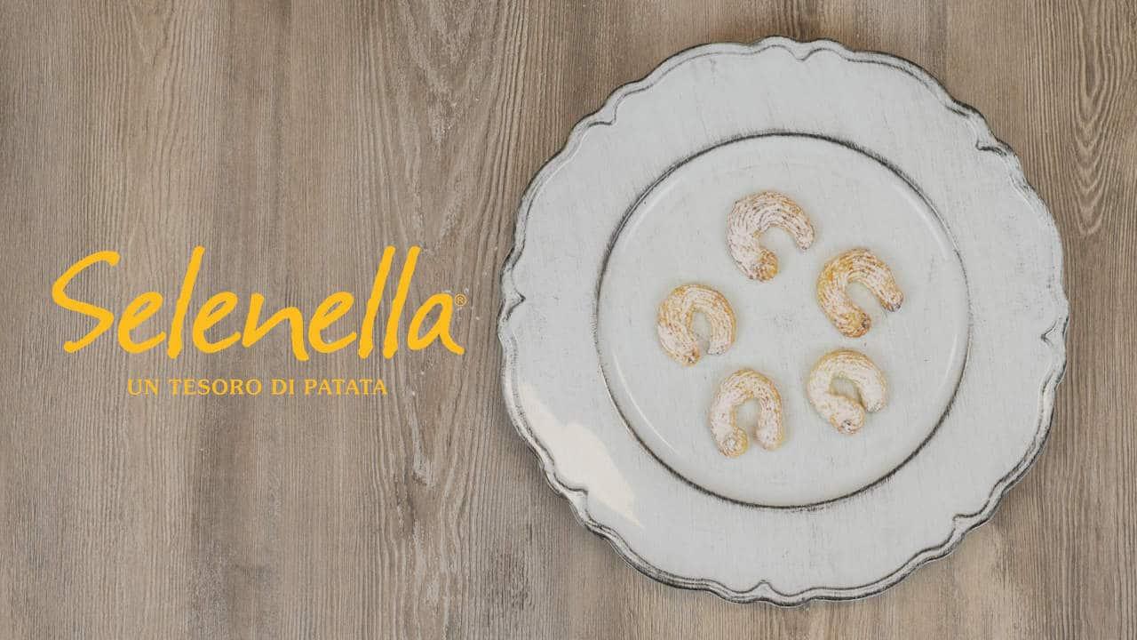 Biscotti morbidi di patate - Ricette Selenella